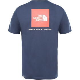 The North Face Redbox T-shirt Heren, urban navy/fiery red